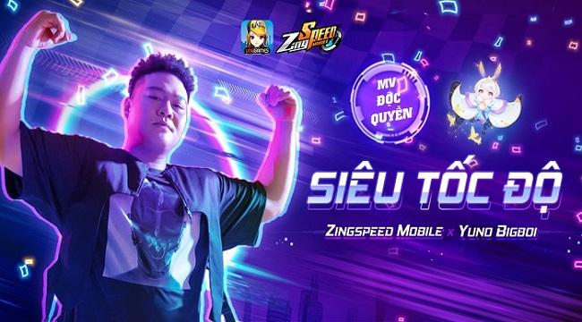 ZingSpeed Mobile: Phiêu cùng giai điệu bắt tai trong MV kết hợp Yuno BigBoi