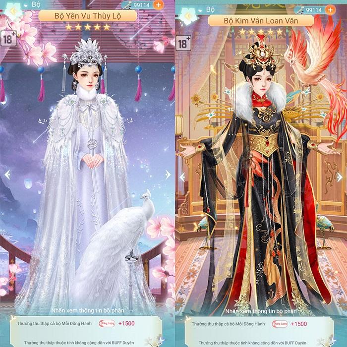 Kỳ Nữ Hoàng Cung có hệ thống thời trang đẹp lộng lẫy và cực kỳ hoành tráng 3