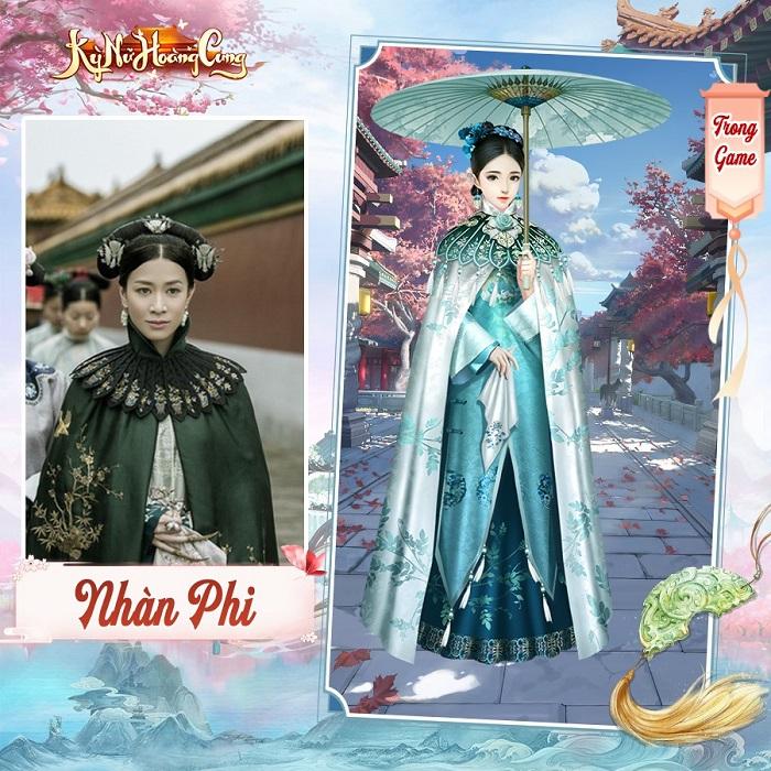 Kỳ Nữ Hoàng Cung có hệ thống thời trang đẹp lộng lẫy và cực kỳ hoành tráng 5