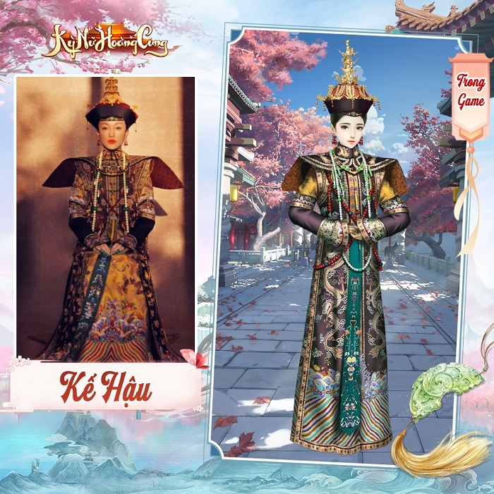 Kỳ Nữ Hoàng Cung có hệ thống thời trang đẹp lộng lẫy và cực kỳ hoành tráng 6