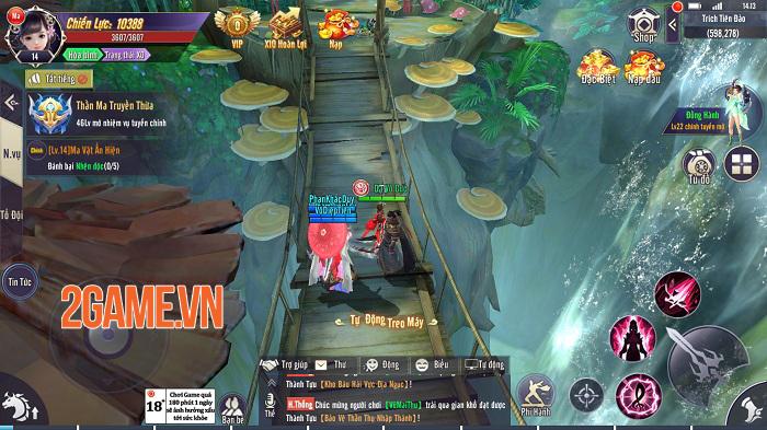 Nhiều game MMORPG là thế vì sao không nên bỏ qua Thương Khung Chi Kiếm? 1