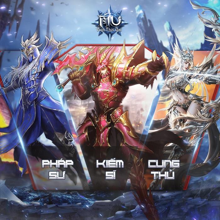 MU Vượt Thời Đại - Huyền thoại game nhập vai công bố lộ trình ra mắt 3
