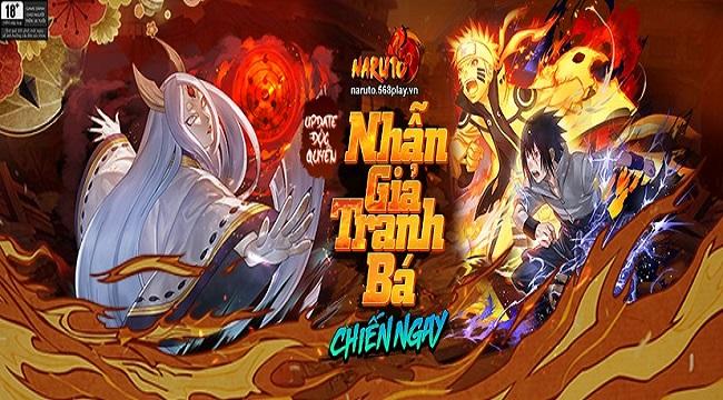 Webgame Naruto 568E hé lộ phiên bản Big Update siêu to siêu khổng lồ