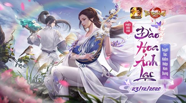 Phiên bản mới Đào Hoa Ảnh Lạc khiến Tân Thiên Long Mobile thêm thú vị