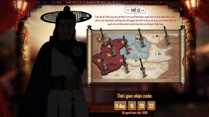 Tặng 500 giftcode Thần Long Cửu Kiếm Gamota chính thức ra mắt 2
