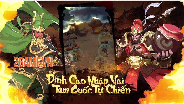 AFK 3Q - Đế Vương Thiên Hạ: Game chiến thuật tự động luyện cấp, rảnh tay điều binh 1