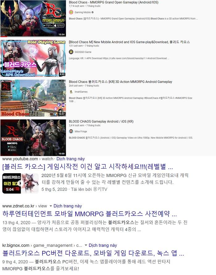 Bom tấn nhập vai Hàn Quốc Blood Chaos M xác nhận ra mắt tại Việt Nam 0