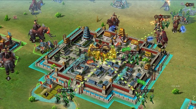 Thiên Mệnh Tam Quốc SLG khẳng định chất chiến thuật chuẩn dòng game 3Q