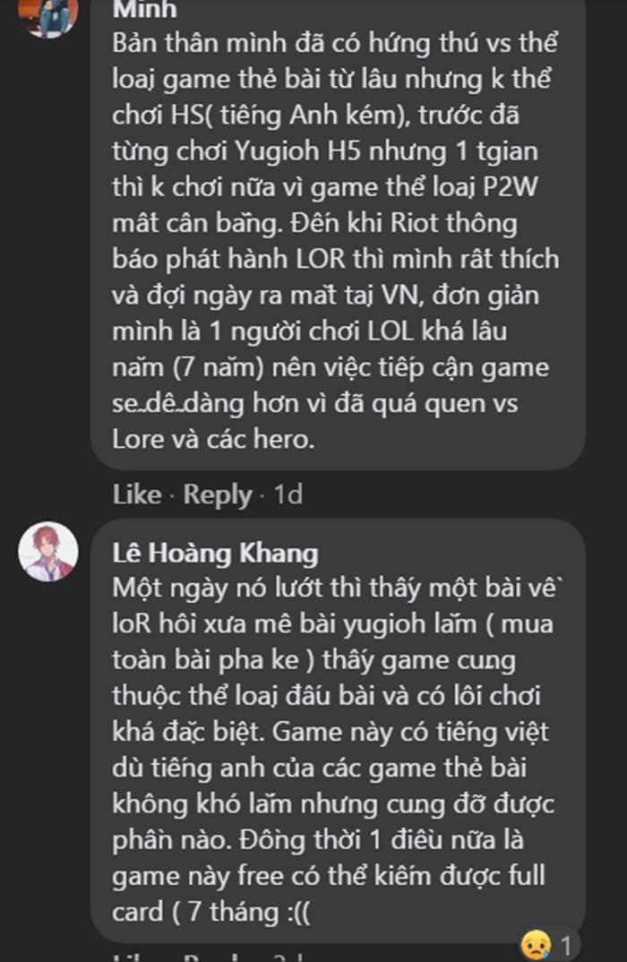 Game thủ Việt gắn bó với Huyền Thoại Runeterra chỉ trong thời gian ngắn 5
