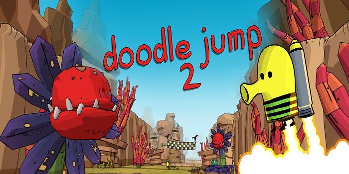 Doodle Jump 2 - Game platformer cổ điển ra mắt phần tiếp sau thời gian vắng bóng 0