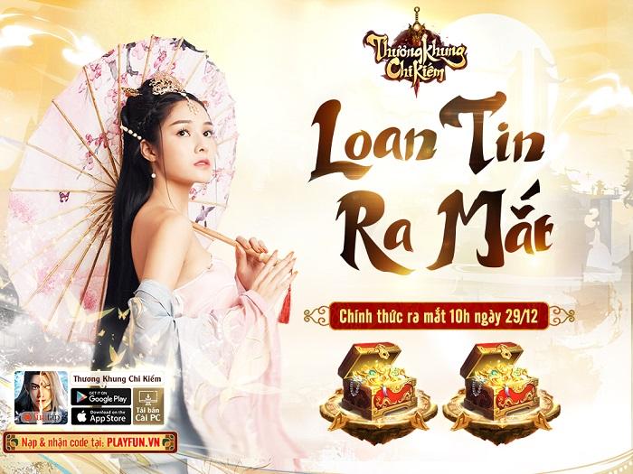 Tặng 500 giftcode game Thương Khung Chi Kiếm Funtap 1