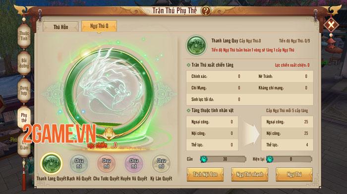 Tính năng mới Ngự Thú Quyết không nên bỏ quên trong Tân Thiên Long Mobile 2