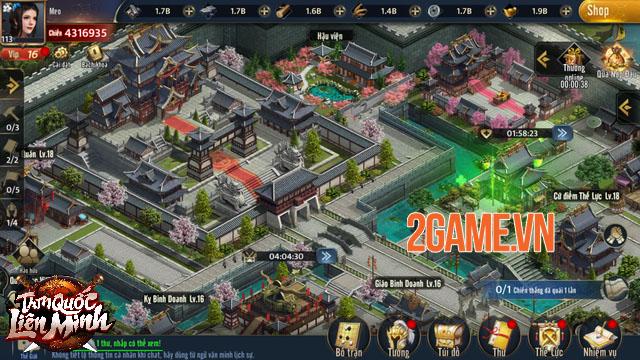 Tam Quốc Liên Minh - Game SLG đồ họa 4K sắc nét và gameplay xuất sắc 1