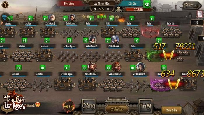 Tặng 500 giftcode game Tam Quốc Liệt Truyện 3