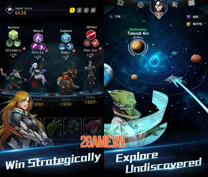Stellar Hunter - Game nhập vai roguelike trình độ cao lấy bối cảnh không gian 3