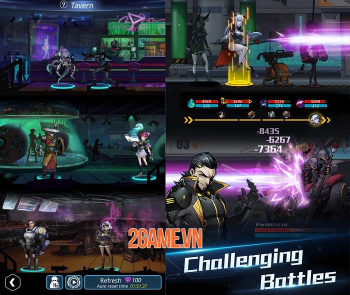 Stellar Hunter - Game nhập vai roguelike trình độ cao lấy bối cảnh không gian 4