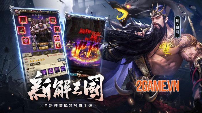 Thần Ma Tam Quốc Mobile - Game thẻ tướng idle sẽ sớm ra mắt game thủ Việt 2