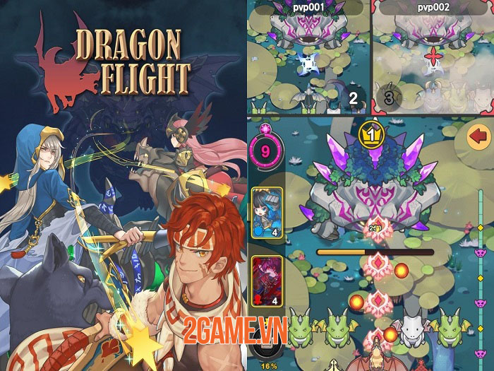 DragonFlight - Game hành động đồ họa đáng yêu, điều khiển dễ dàng 3