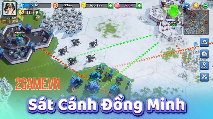 Top War: Battle Game - Game chiến thuật xây dựng quân đội với lối chơi mới mẻ 6