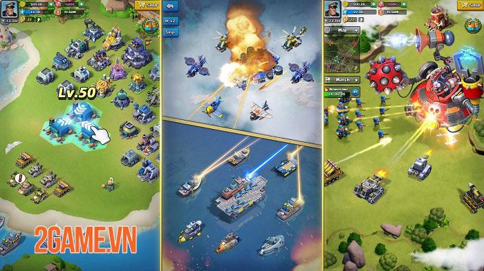 Top War: Battle Game - Game chiến thuật xây dựng quân đội với lối chơi mới mẻ 0