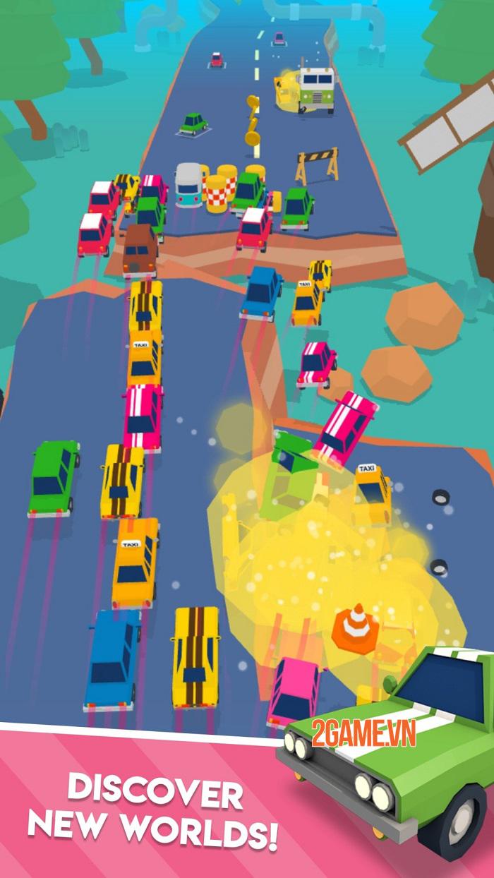 Tựa game mobile lái xe kỳ quặc Mad Cars chính thức ra mắt hôm nay 1