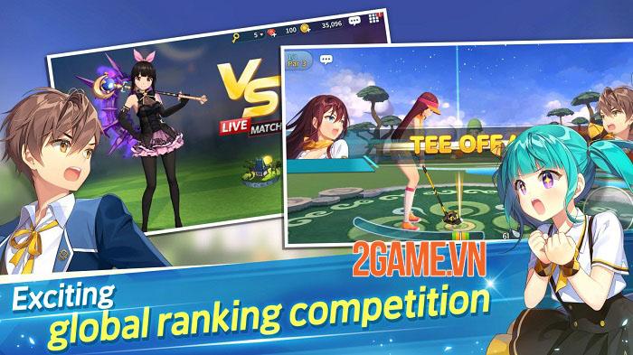 Birdie Crush: Fantasy Golf - Game đánh golf mở đăng kí trước cho nền tảng di động 3