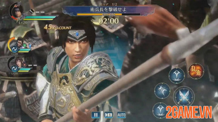 Dynasty Warriors: Dominate - Đỉnh cao chặt chém của game thủ mobile 1