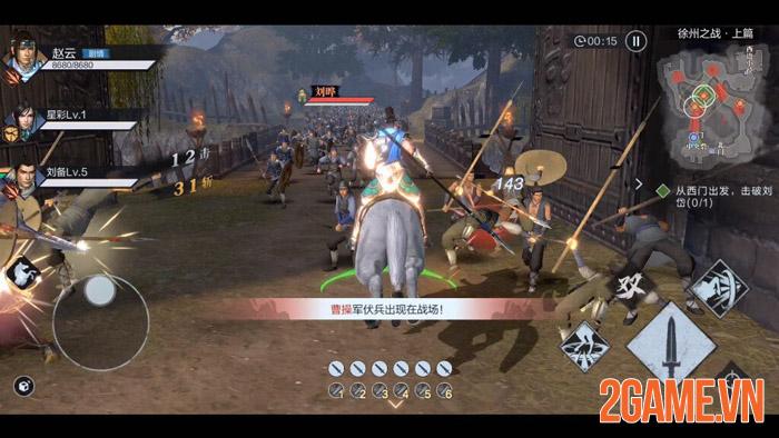 Dynasty Warriors: Dominate - Đỉnh cao chặt chém của game thủ mobile 2