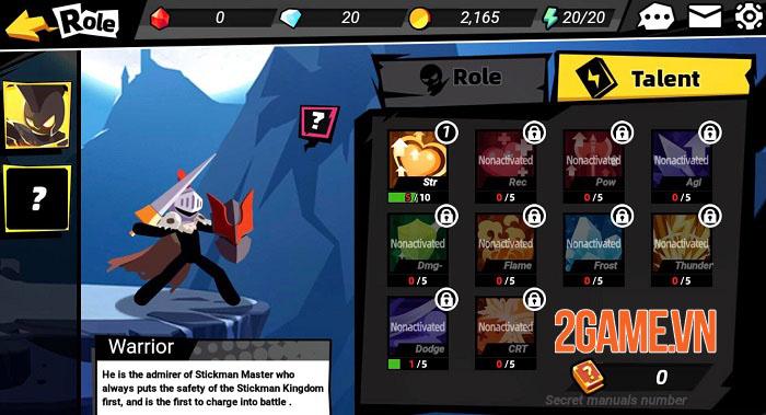 Stickman Master II: Dark Earldom - Game người que chiến đấu rogue-like 2