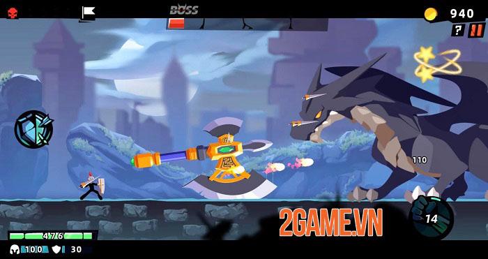 Stickman Master II: Dark Earldom - Game người que chiến đấu rogue-like 0
