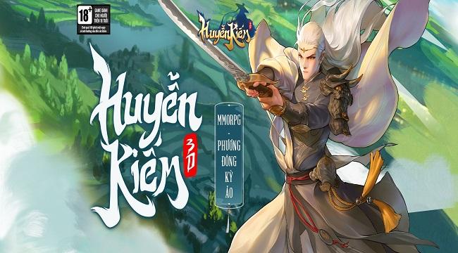 Huyễn Kiếm 3D – game đỉnh cao chuẩn bị ra mắt game thủ Việt Nam