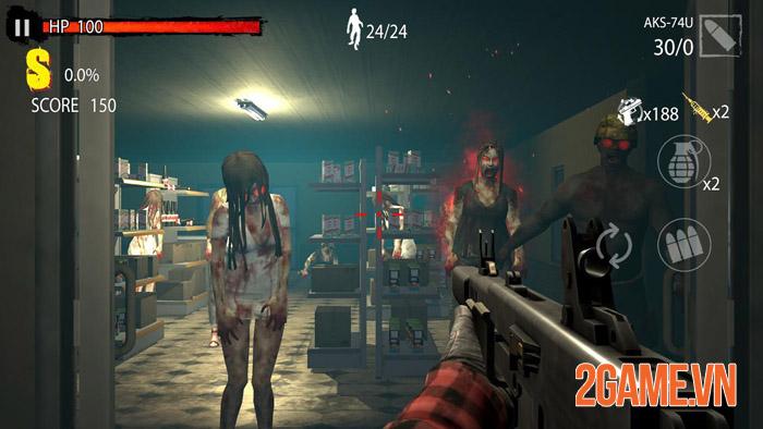 Zombie Hunter D-Day - thỏa sức tung hoành giữa bầy xác sống 0