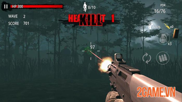 Zombie Hunter D-Day - thỏa sức tung hoành giữa bầy xác sống 2