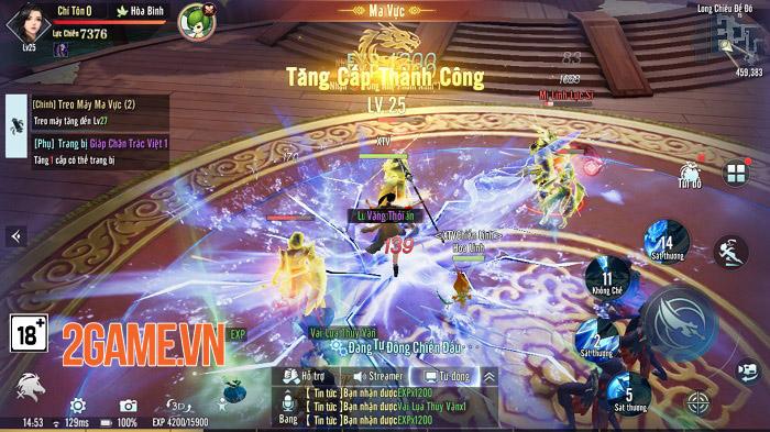 Trải nghiệm Huyễn Kiếm 3D: Phá vỡ giới hạn game kiếm hiệp trên mobile 6
