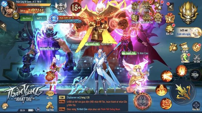 Tặng 600 giftcode game Thần Vương Nhất Thế 2
