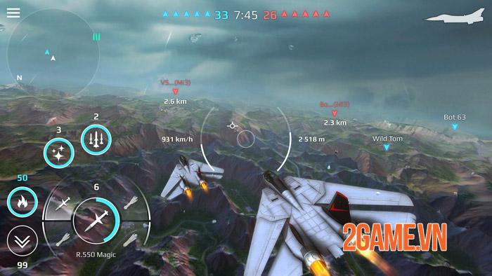 Sky Combat Mobile - Trở thành bá chủ bầu trời theo cách riêng của bạn 2