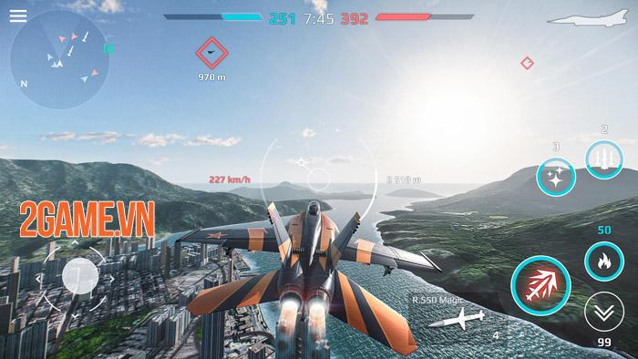 Sky Combat Mobile - Trở thành bá chủ bầu trời theo cách riêng của bạn 3
