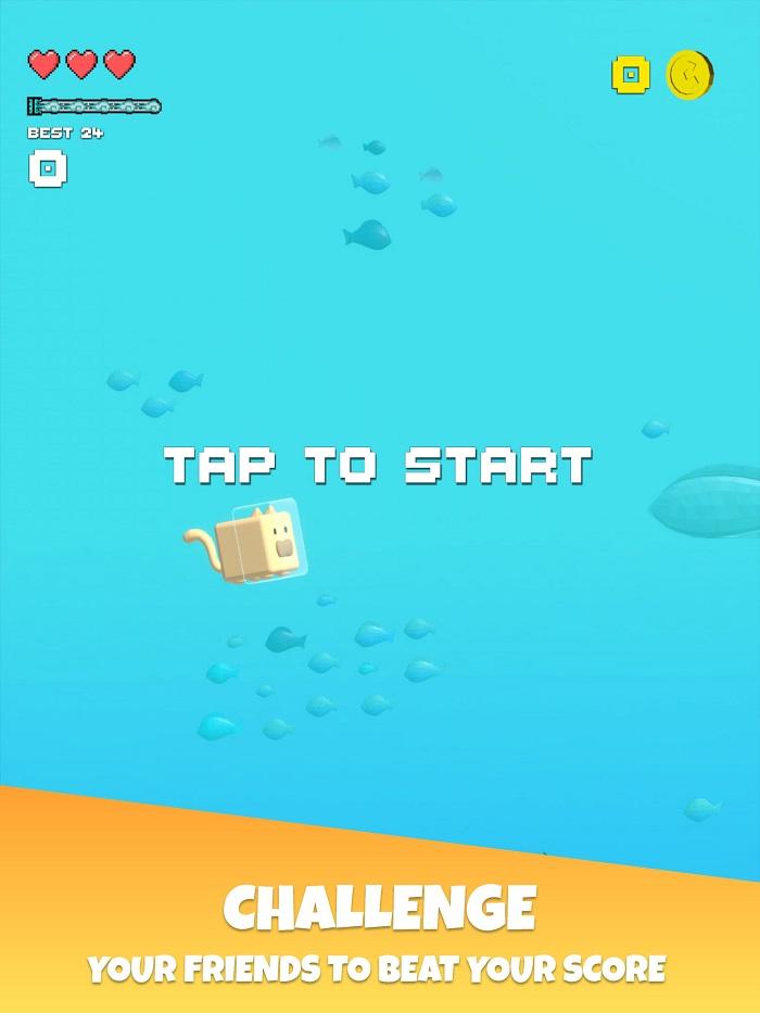 Choppy Waters - Game bơi lội tìm cách sống sót dưới đáy đại dương 0
