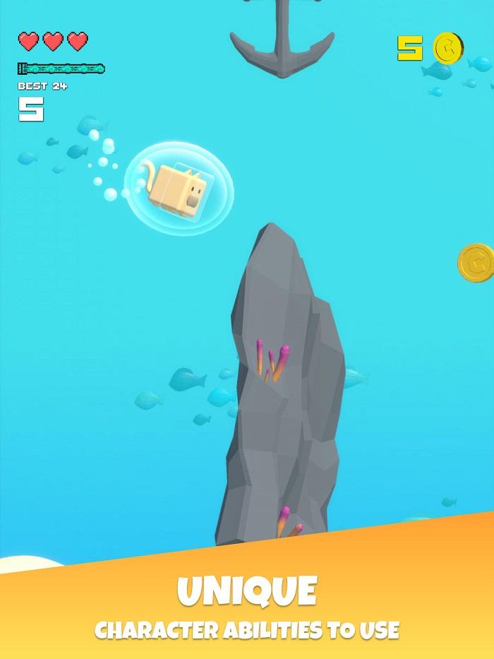 Choppy Waters - Game bơi lội tìm cách sống sót dưới đáy đại dương 1