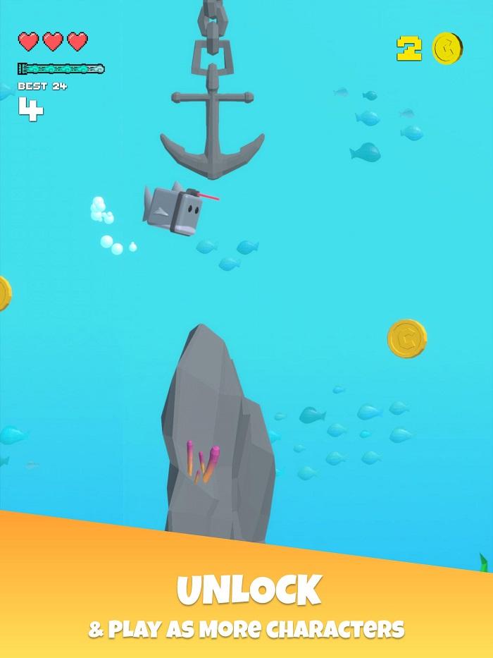 Choppy Waters - Game bơi lội tìm cách sống sót dưới đáy đại dương 2