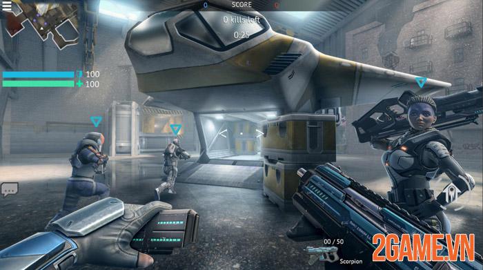 Infinity Ops: Online FPS Cyberpunk Shooter - Khai mở tương lai 1