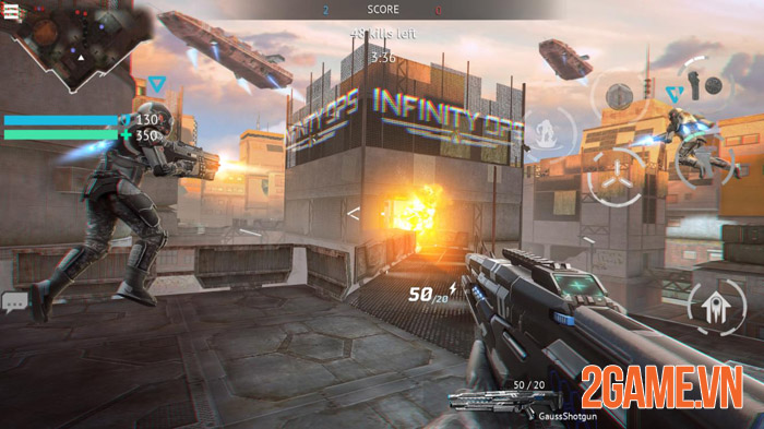 Infinity Ops: Online FPS Cyberpunk Shooter - Khai mở tương lai 0