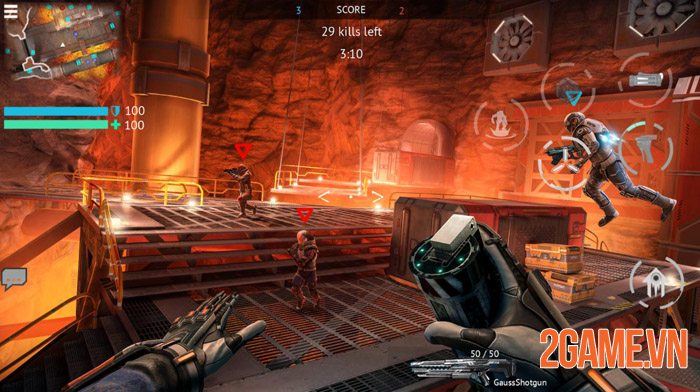 Infinity Ops: Online FPS Cyberpunk Shooter - Khai mở tương lai 2