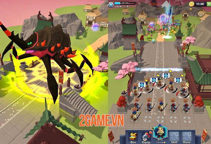 Super Heroes TD - Game chiến thuật với lối chơi nhàn rỗi, dễ dàng và vui vẻ 1