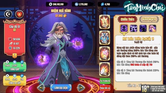 Tân Minh Chủ - Dự án game chiến thuật Kim Dung có 'gia phả' cực khủng 6