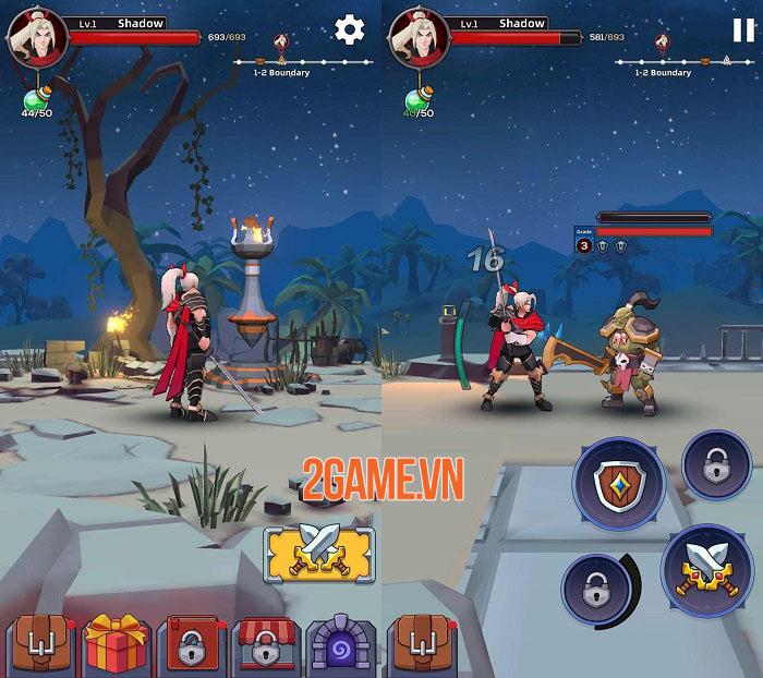 Blazing Soul - Game hành động thao tác một tay với những trận chiến khốc liệt 0