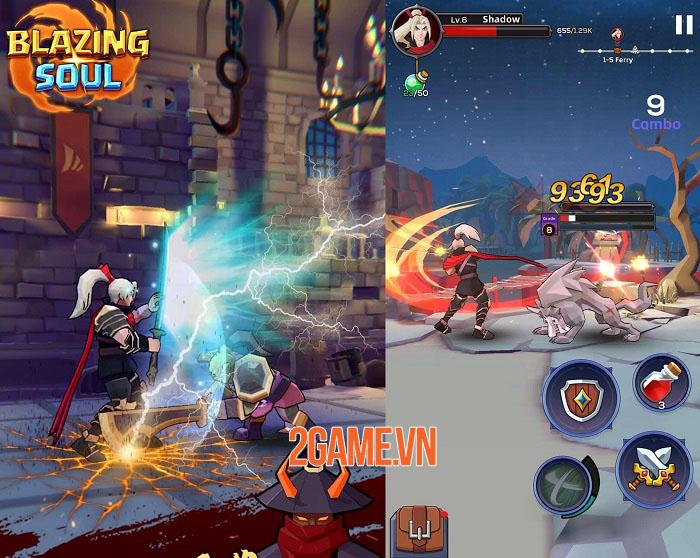 Blazing Soul - Game hành động thao tác một tay với những trận chiến khốc liệt 2
