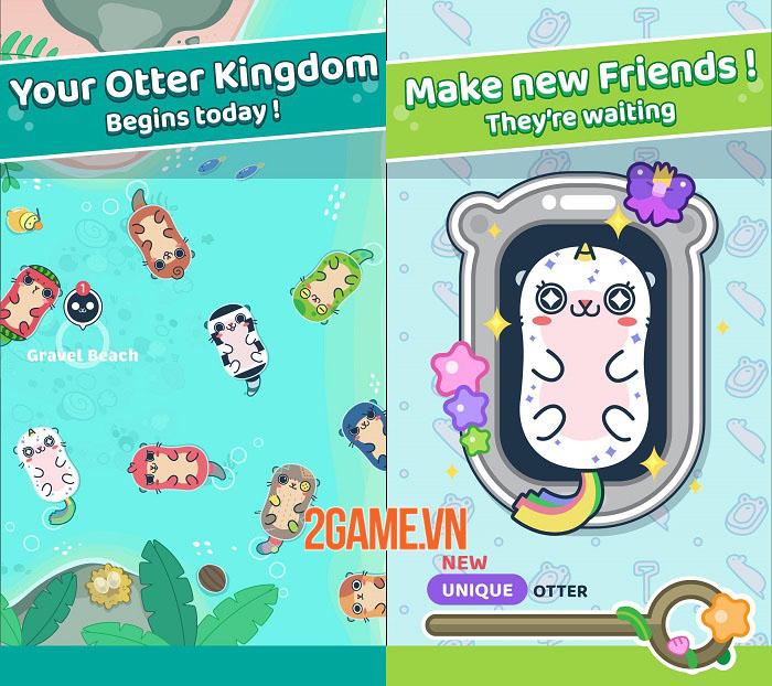 Otter Ocean - Game mobile thu thập thú cưng siêu dễ thương mở đăng kí trước 1