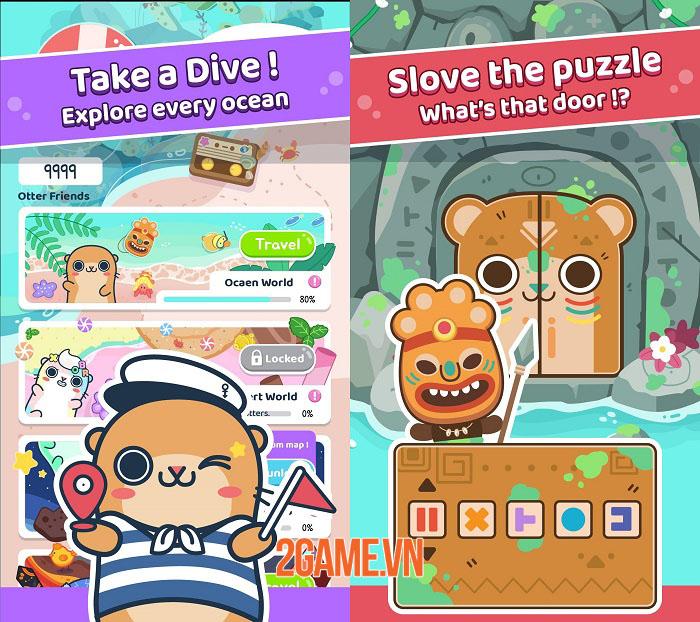 Otter Ocean - Game mobile thu thập thú cưng siêu dễ thương mở đăng kí trước 3