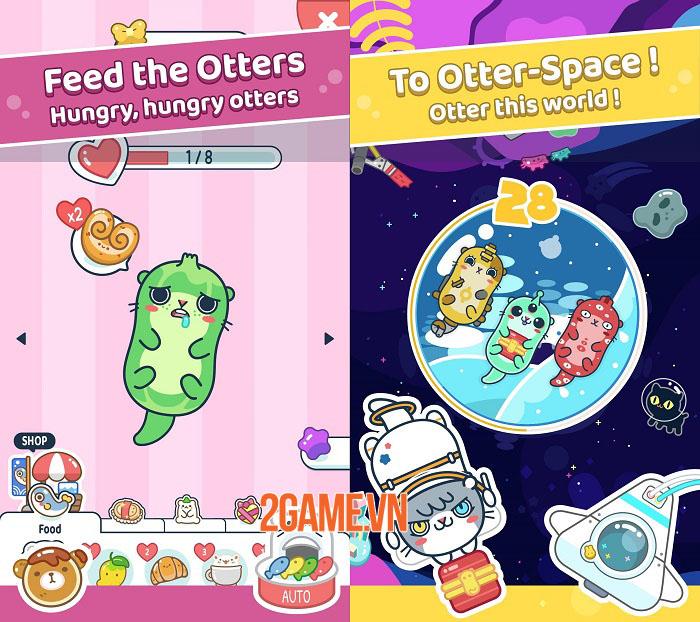 Otter Ocean - Game mobile thu thập thú cưng siêu dễ thương mở đăng kí trước 4
